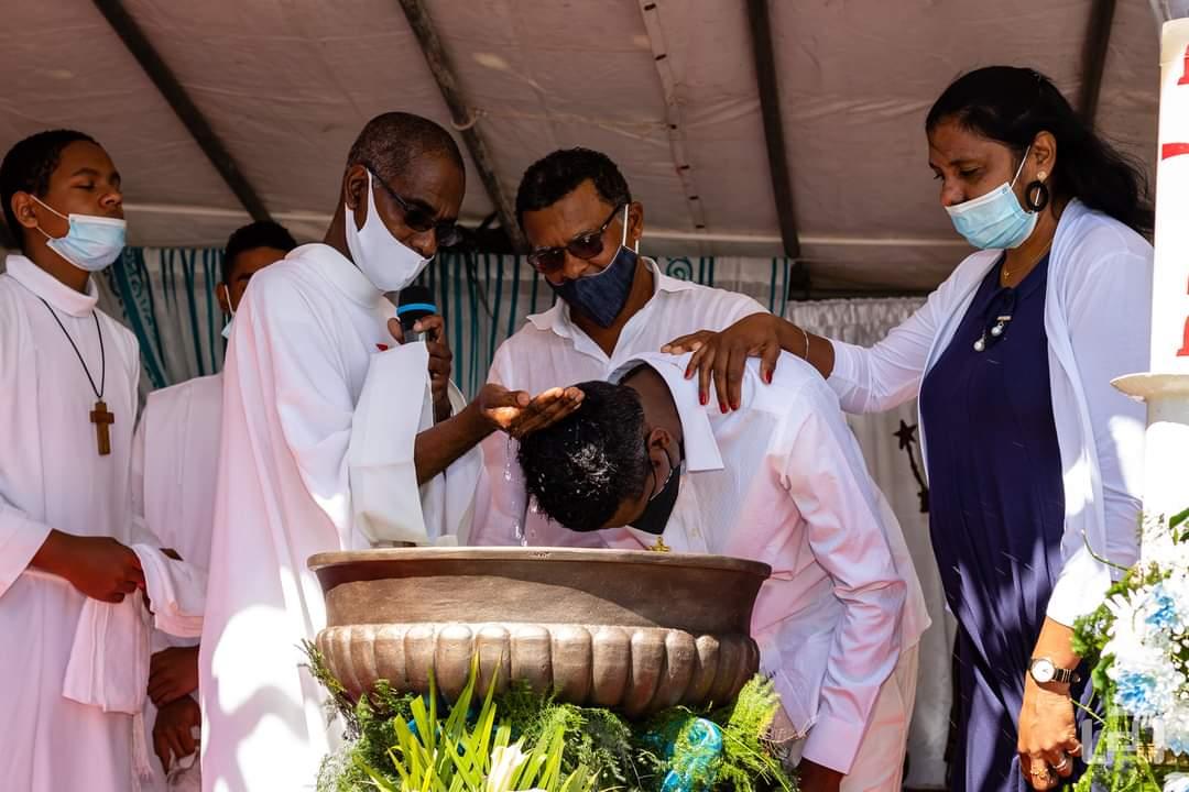 Catéchumènes : Début des baptêmes en août