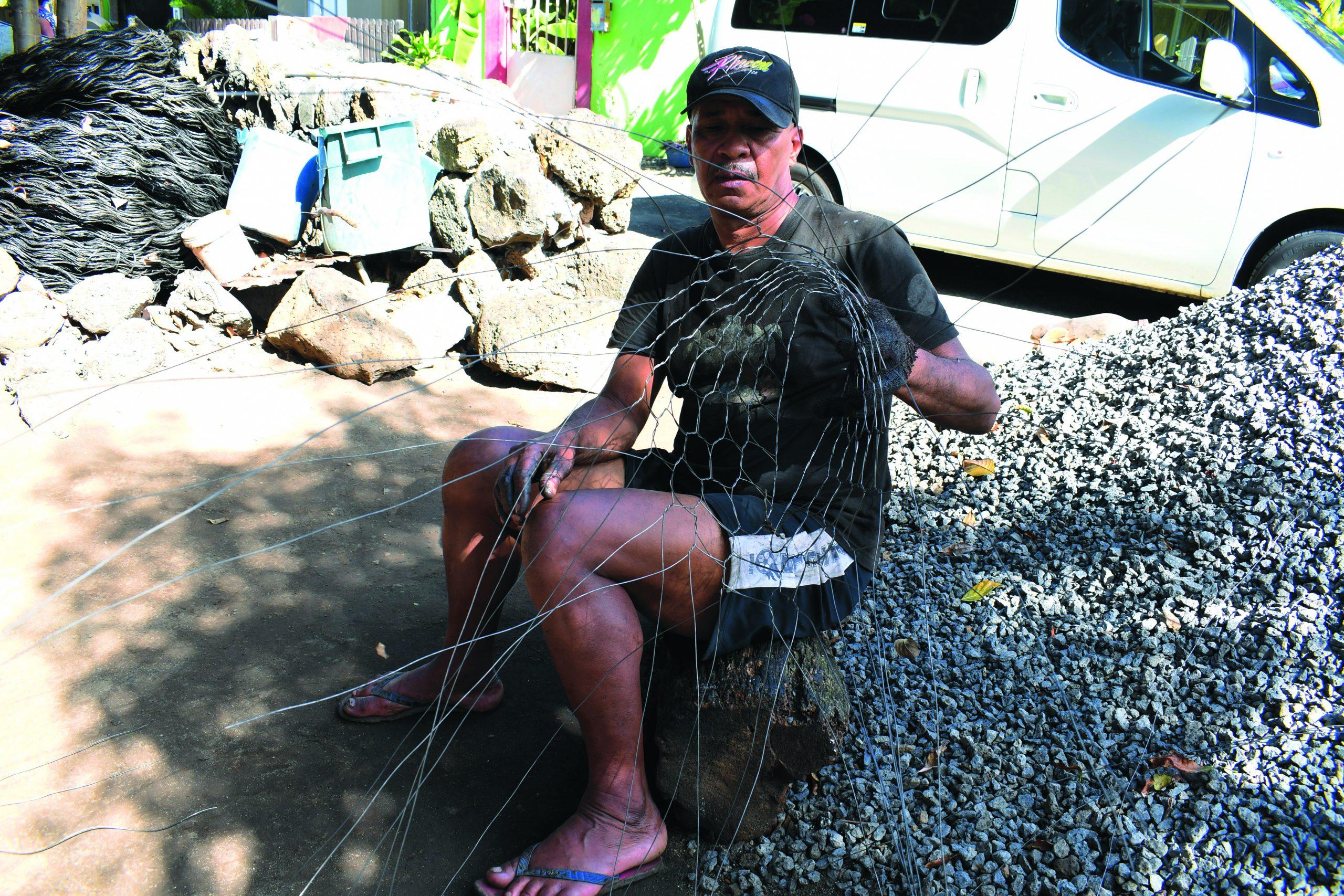 Casiers de pêche