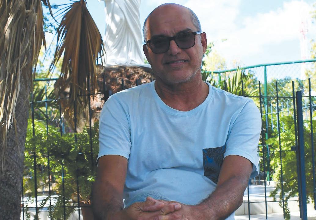 Alain Aliphon : «LVC nous aide  à reprendre confiance en la vie »