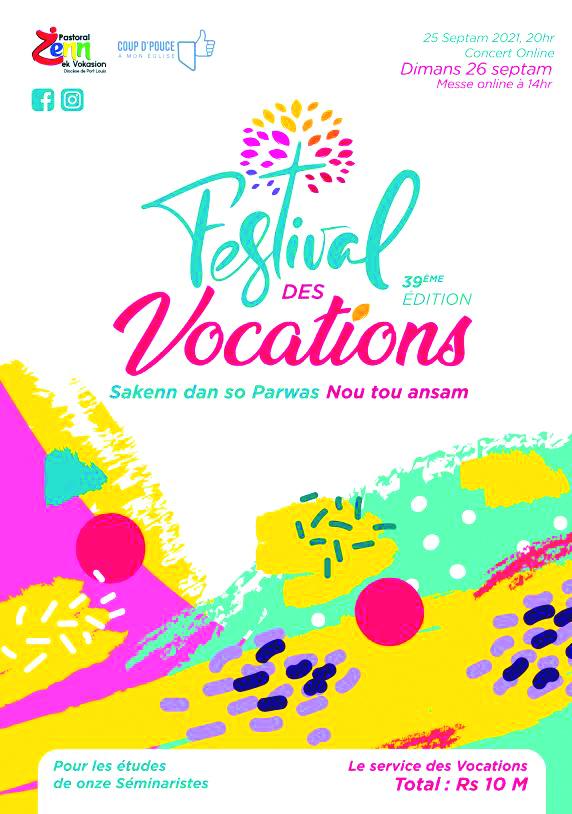 Festival des Vocations : Campagne de levée de fonds