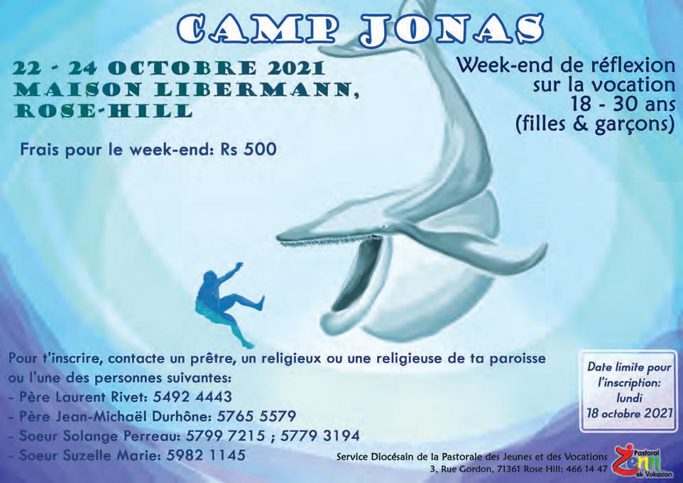 Camp Jonas : Réfléchir sur sa vocation